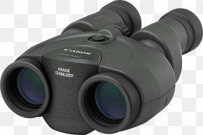 Binocular - Canon EOS Image-stabilized Binoculars Image Stabilization PNG