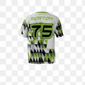 T-shirt - T-shirt Sleeve Green Font PNG