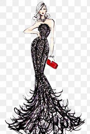 Bra Wedding Embroidery - Fashion Design Fashion Illustration Designer Drawing PNG
