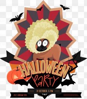 Funny Animal Halloween Logo - Halloween Jack-o'-lantern Party Illustration PNG