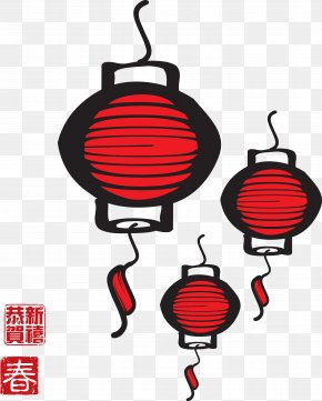 Chinese New Year - Chinese New Year Image Festival Lantern PNG