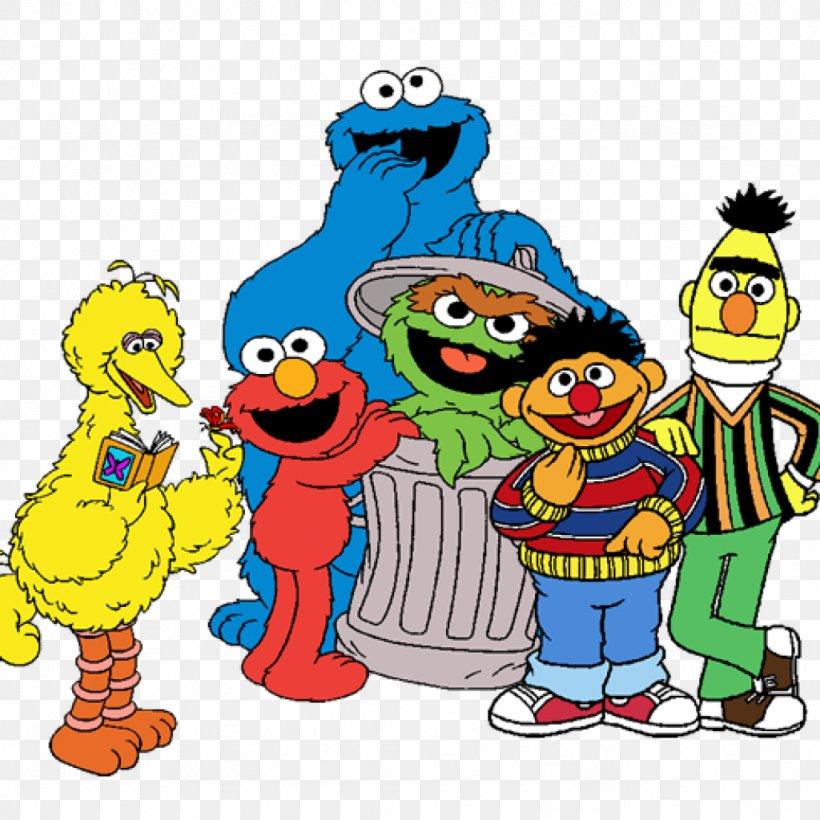 Elmo Big Bird Cookie Monster Oscar The Grouch Abby Cadabby