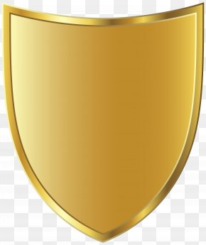 Golden Badge Template Image - Yellow Font Angle Design PNG