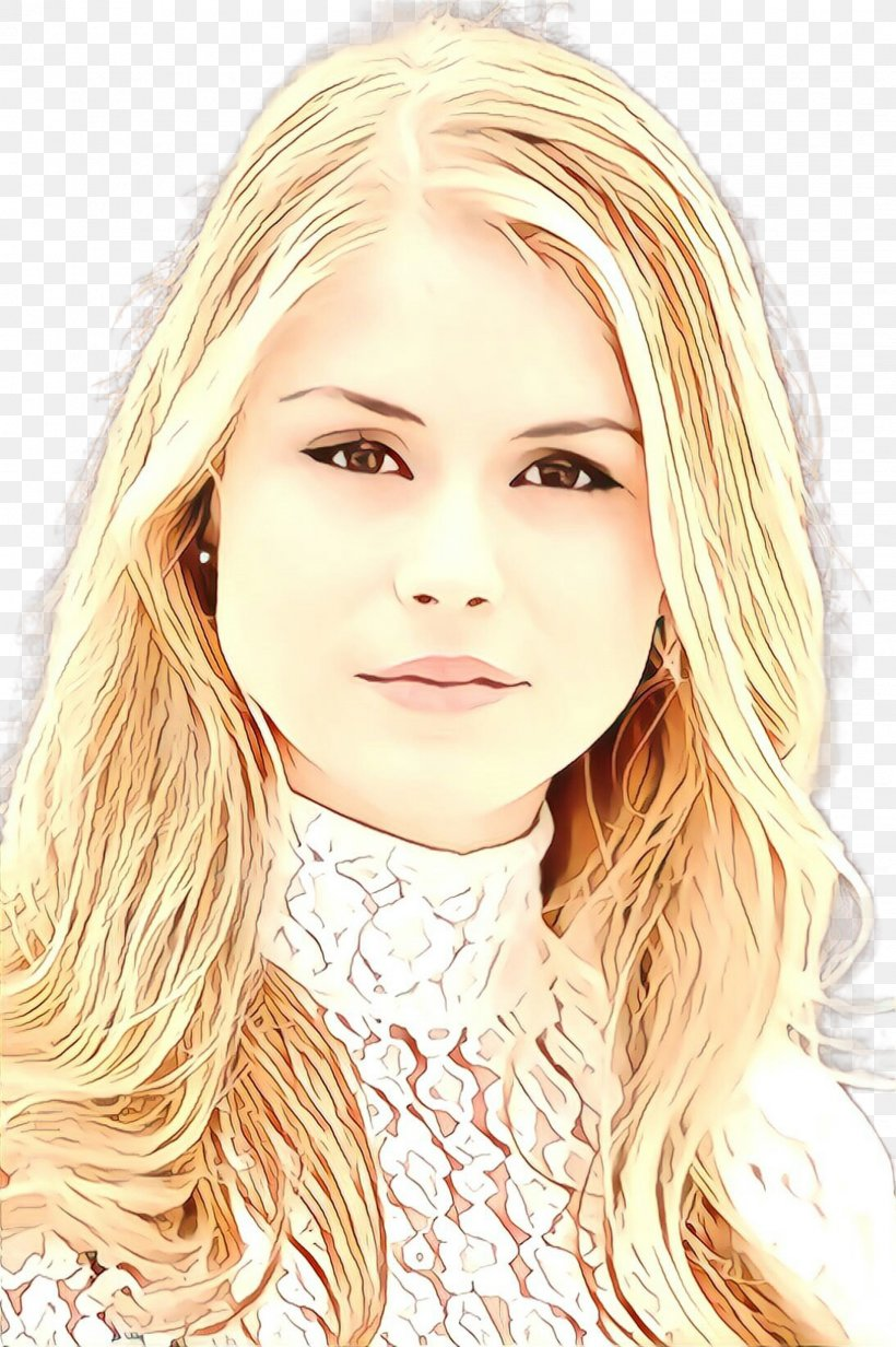 Hair Face Blond Eyebrow Hairstyle, PNG, 1632x2452px, Cartoon