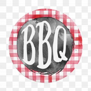 BBQ - Barbecue Grill Cloth Napkins Table Paper Plate PNG
