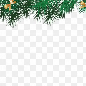 Leaves - Borders And Frames Santa Claus Christmas Picture Frame PNG