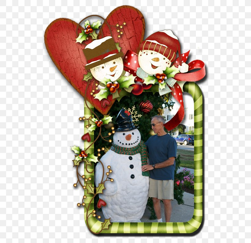 Christmas Ornament Ded Moroz New Year Tree Picture Frames Snowman, PNG, 575x795px, Christmas Ornament, Christmas, Christmas Decoration, Ded Moroz, Flower Download Free
