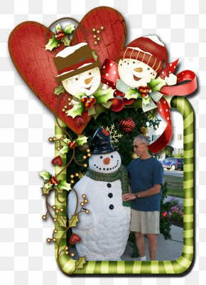 Christmas Chill - Christmas Ornament Ded Moroz New Year Tree Picture Frames Snowman PNG