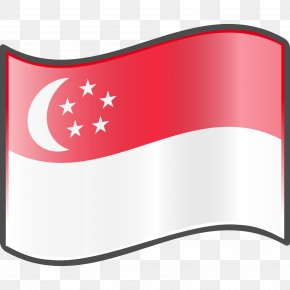 Flag - Flag Of Singapore Flag Of Indonesia Flag Of Palestine PNG
