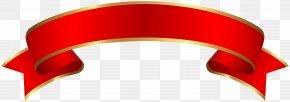 Red Banner - Web Banner Clip Art PNG