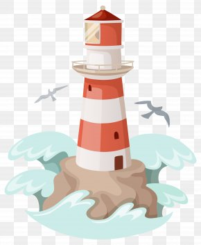 Lighthouse Clipart Image - Clip Art PNG
