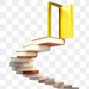 Books And Doors - Door Knowledge Stock Photography Stairs Stock Illustration PNG
