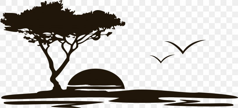 Wall Decal Sticker Polyvinyl Chloride, PNG, 3508x1604px, Wall Decal, Black And White, Branch, Decal, Die Cutting Download Free
