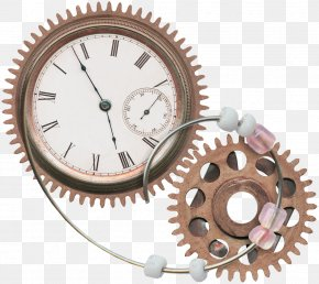Gear Clock - Clock Gear PNG