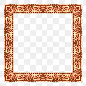 Korean Border Pattern Psd Layered. - Korea Picture Frame Computer File PNG