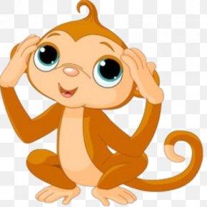 Monkey Clipart - Baby Monkeys Clip Art PNG