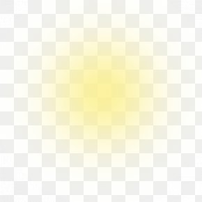 Sun Rays - Light Yellow Halo Luminous Efficacy PNG
