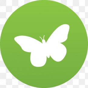 Care 2 - Butterfly Leaf Pollinator Invertebrate Font PNG