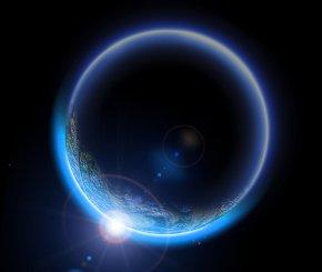 Eclipse Effect Material - Lunar Eclipse Light Moon PNG