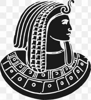 Egyptian Pharaoh Avatar - Ancient Egypt Pharaoh Clip Art PNG