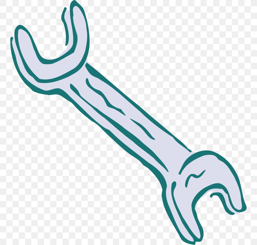 Hand Tool Spanners Adjustable Spanner Clip Art, PNG, 755x780px, Hand Tool, Adjustable Spanner, Aqua, Body Jewelry, Haknyckel Download Free