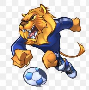 Lions Football - Detroit Lions Mascot American Football S.L. Benfica PNG