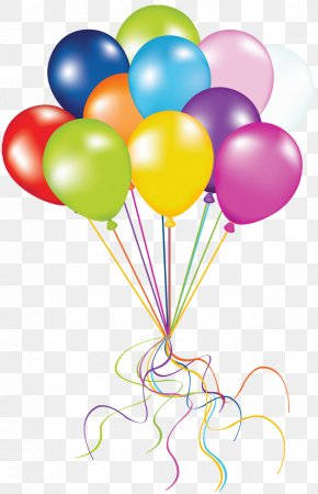 Transparent Balloons Picture - Balloon Birthday Clip Art PNG