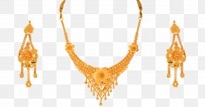 Jewellery - Earring Jewellery Necklace Gold Jewelry Design PNG