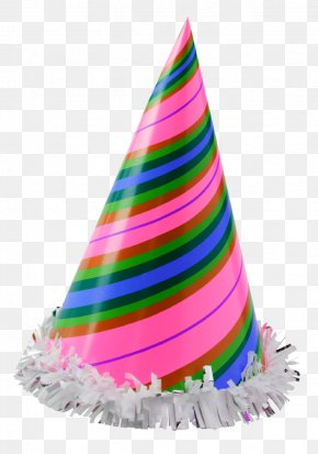 Birthday Hat - Party Hat Birthday Clip Art PNG