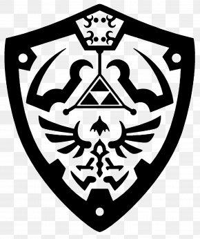 Shield Template - The Legend Of Zelda: Breath Of The Wild Link Princess Zelda Decal PNG