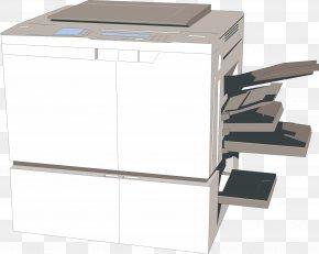 Printer Reflection - Printer Paper PNG