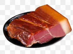 Food Cooked Bacon - Xiangxi Tujia And Miao Autonomous Prefecture Chinese Sausage Bacon Domestic Pig PNG