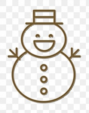 Emoticon Line Art - Christmas Icon Man Icon Snow Icon PNG