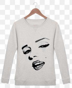T-shirt - T-shirt Hoodie Sleeve Bluza Crew Neck PNG