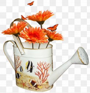Kettle Filled With Flowers - Vacation Ansichtkaart Recreation PNG