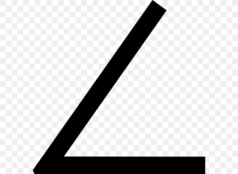 Angle Geometry Vertex Mathematics Degree Symbol, PNG, 594x600px, Geometry, Angle Aigu, Black, Black And White, Brand Download Free