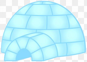 Igloo Clip Art - Sphere Blue Design Product PNG