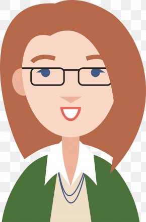Professional Women Cartoon Vector - Professional Information Icon PNG