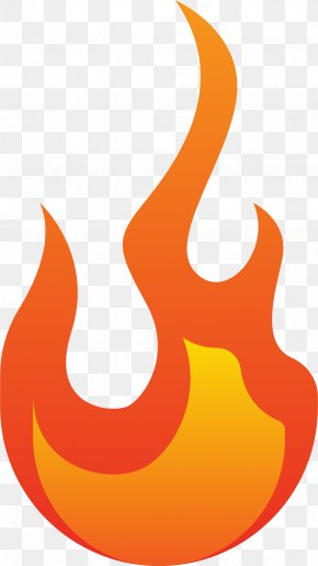 Cartoon Little Flame - Flame Combustion Clip Art PNG