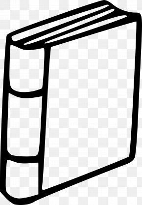 Book Clip Art - Black And White Book Clip Art PNG