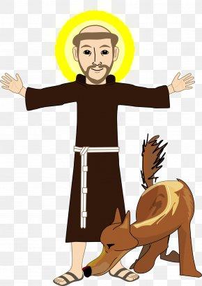 Catholic - Francis Of Assisi Saint Clip Art PNG