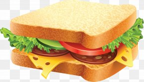 Sandwich Image - Hamburger Cheese Sandwich Fast Food Delicatessen PNG