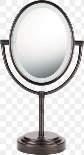 Mirror - Mirror Cosmetics Light Magnifying Glass Vanity PNG