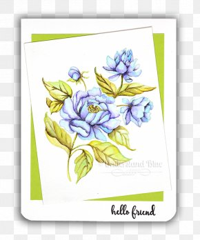 Painting - Floral Design Watercolor Painting 水彩色鉛筆 Drawing PNG