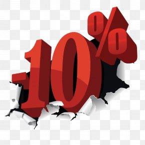 10% - Discounts And Allowances Net D Service Cash Shop PNG