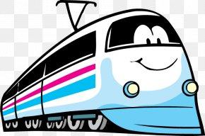 Train - Rail Transport Train Passenger Car Clip Art Electric Locomotive PNG