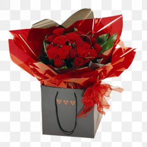 Valentine's Day - Valentine's Day Flower Bouquet Gift Floristry PNG