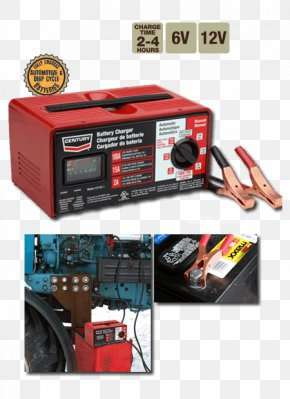 Battery Charger - Battery Charger Deep-cycle Battery Car Automotive Battery Electric Battery PNG
