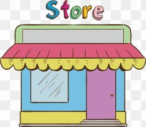 Convenience Store Model - Convenience Shop Vecteur Computer File PNG