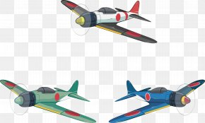 Japanese Fighter Planes During World War II - Fighter Aircraft Airplane Second World War Military PNG